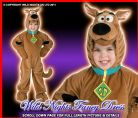 ~ Boys / Girls Deluxe Scooby Doo Costume